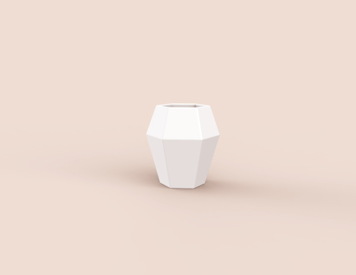 hexagon cup
